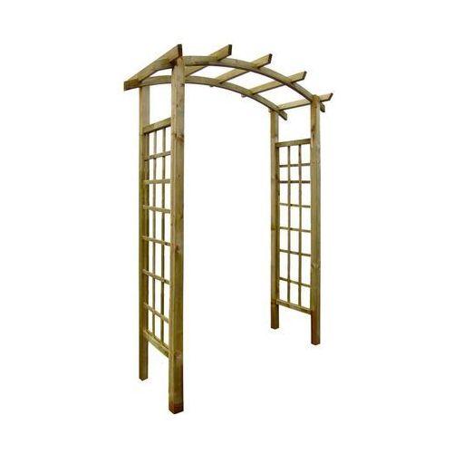 Stelmet Pergola ogrodowa 160 x 72 x 221 cm drewniana