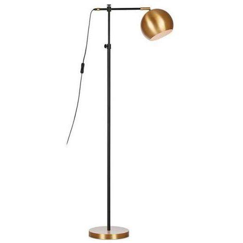 Stojąca LAMPA podłogowa CHESTER 107231 Markslojd metalowa OPRAWA kula ball brąz (7330024573680)