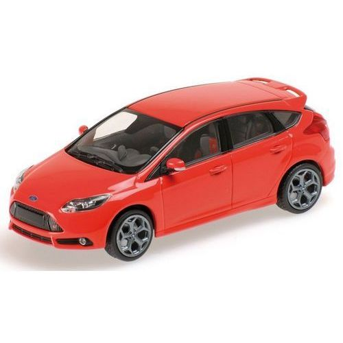 Minichamps  ford focus st 2011 (red) (4012138124035)