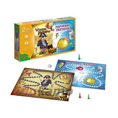 Gra - Wyspa piratów + Podwodna przygoda ALEX, AM_5906018004847