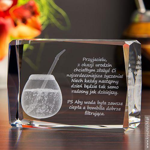 Yerba Mate 3D • personalizowany kryształ 3D • GRAWER 3D GRATIS