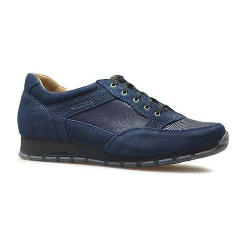 Sneakersy Lesta 231-4280-1-32403002 Granatowe nubuk