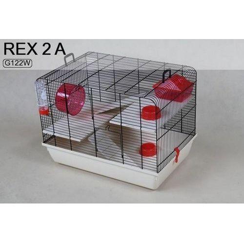 Inter zoo Inter-zoo rex ii g122w klatka dla chomika 59x38x43cm
