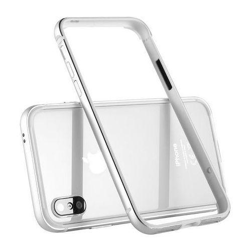 Etui Benks Aegis Bumper iPhone X Silver, kolor szary
