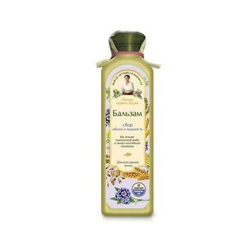Babuszka Agafia Balsam do włosów jasny - objętość i puszystość do wszystkich rodzajów włosów 350ml