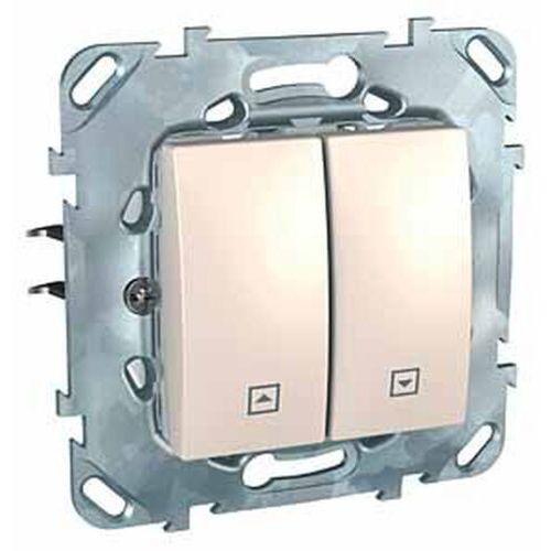 Schneider Unica Plus Przycisk żaluzjowy piaskowy MGU50.207.25Z, MGU50.207.25Z