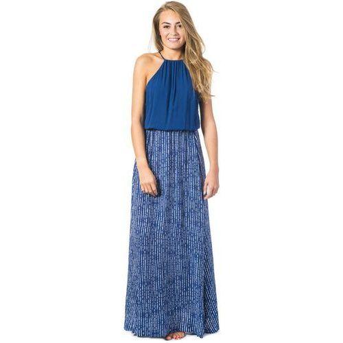 sukienka RIP CURL - Westwind Maxi Dress Night (9350), kolor niebieski