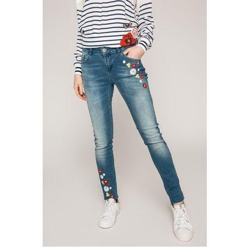 Desigual - Jeansy Loriane, jeansy