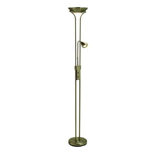 Lampa podłogowa stojąca Markslojd Detroit 2x35W GU10 patyna 111247 (7392254111278)