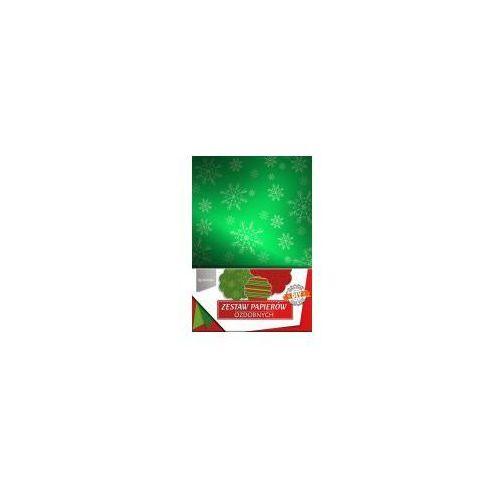 Zestaw papierów ozdobnych świąteczny