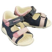 GEOX B8238B S.NICELY C4BE8 avio/pink, sandały dziecięce, rozmiary: 20-25 (8058279234055)