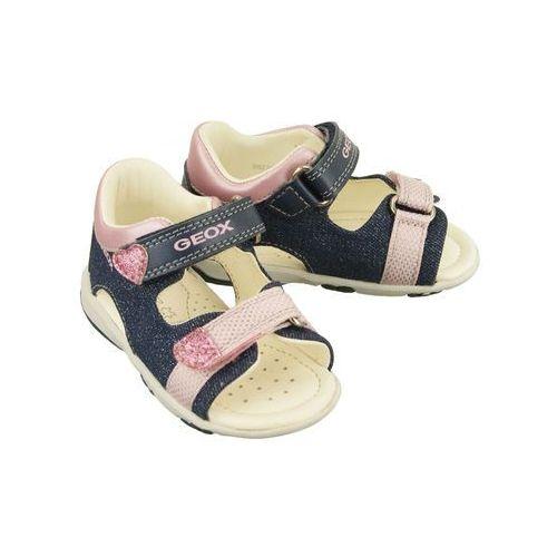 GEOX B8238B S.NICELY C4BE8 avio/pink, sandały dziecięce, rozmiary: 20-25