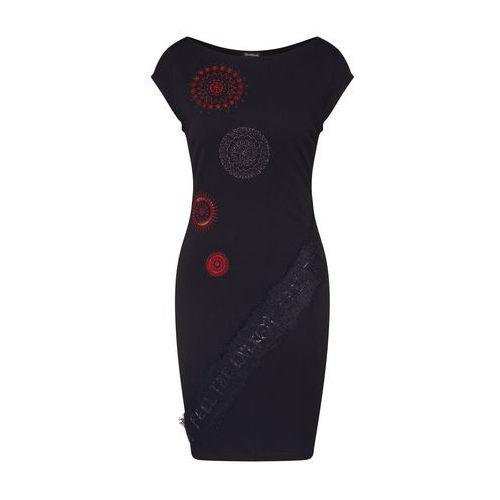 Desigual sukienka damska Vest Briana XS czarna (8434486864078)