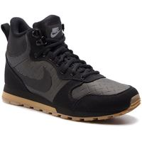 Buty NIKE - Md Runner 2 Mid Prem 844864 006 Black/Black/Gum Light Brown, kolor czarny