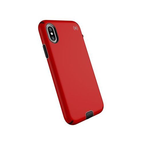 Speck presidio sport etui obudowa iphone xs / x (black/poppy red)