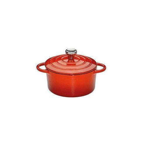 Kuchenprofi - Provence - garnek do zapiekania, ⌀ 10,00 cm, czerwony - czerwony, KU-0401001410 (10959201)