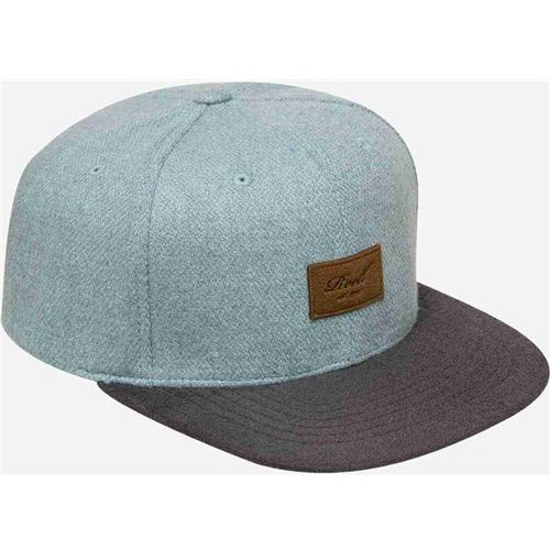 czapka z daszkiem REELL - Pitchout 6-Panel Cap Blue Wool & Ink (BLUE WOOL & INK), kolor niebieski