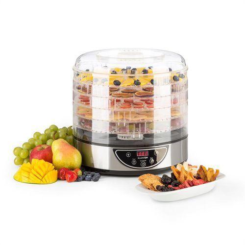 Klarstein fruitower d suszarka do owoców i warzyw 35-70°c timer 5 poziomów 200-240w