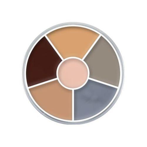 cream color circle (corpse) kółko 6 kolorów farb supracolor - corpse (1306) marki Kryolan