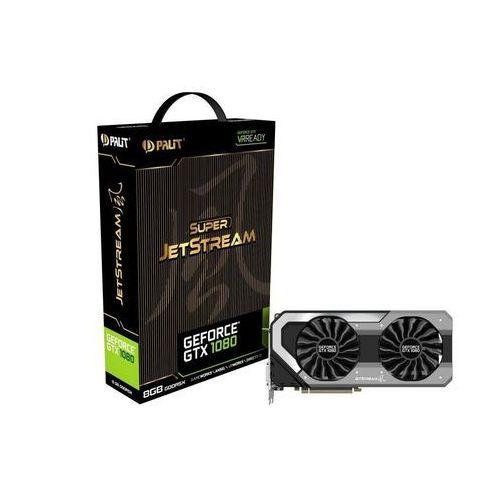 OKAZJA - Palit GeForce CUDA GTX1080 Super JetStream 8GB DDR5 256 BIT - DARMOWA DOSTAWA!!!, NEB1080S15P2J