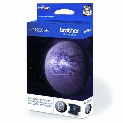 Tusz Brother LC1220BK /DCP- J525DW/ black (4977766696357)