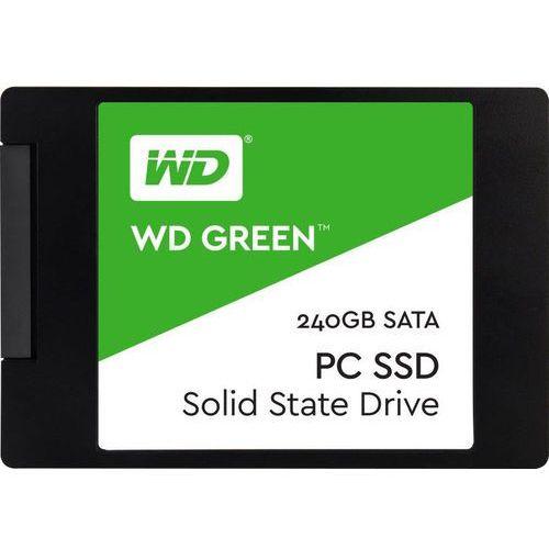 WD Green SSD 240GB SATA III 6Gb/ s 2,5Inch 7mm Bulk, WDS240G1G0A