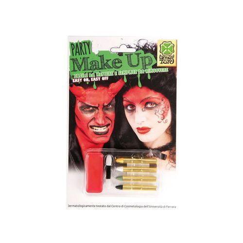 Zestaw do makijażu na czerwonym podkładzie marki Carnival. Tanie oferty ze sklepów i opinie.
