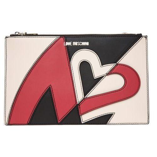 Love moschino kopertówka czarny czerwony uni (8054653054981)
