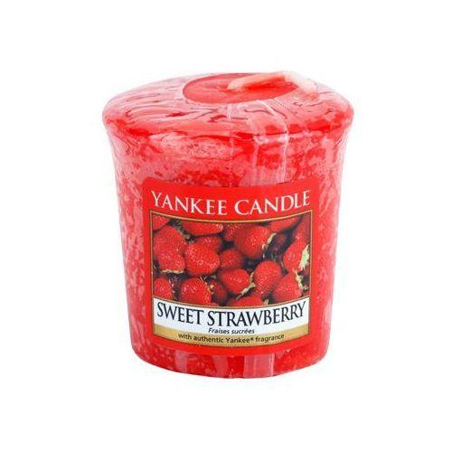 Yankee candle  sweet strawberry sampler 49 g + do każdego zamówienia upominek.
