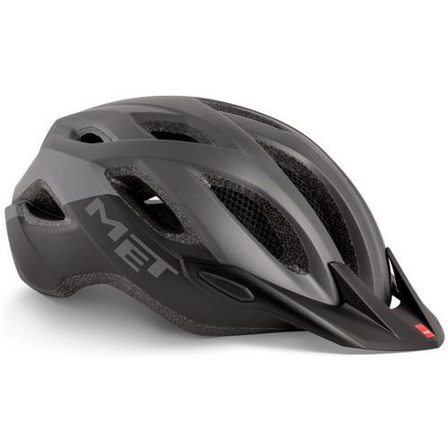 Kask MET CROSSOVER XL czarno-szary 2019, 3HM109XLGR1