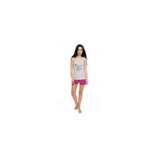 Piżama damska z szortami Rossli SAL-PY-1053