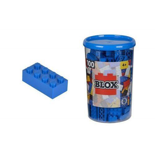 Blox Klocki 100 elementów niebieskie - Simba Toys