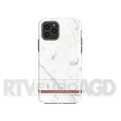 Richmond & Finch White Marble - Rose Gold iPhone 11 Pro Max (7350111350857)
