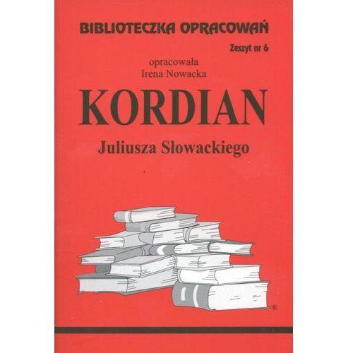 Biblioteczka opracowań zeszyt nr 6 - Kordian, Biblioteka Wysylkowa
