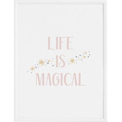 Plakat life is magical 70 x 100 cm marki Follygraph