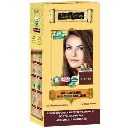 valley ziołowa farba z henną blond 120g marki Indus