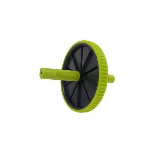 Kółko do ćwiczeń LIFEFIT Exercise Wheel Single - czarno/zielone