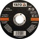 Tarcza YATO YT-5923 125 x 22 mm (5906083959233)