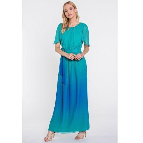 Cieniowana sukienka maxi - Potis & Verso