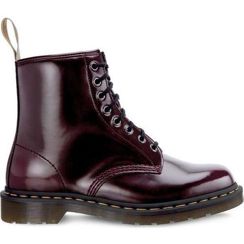 Dr. martens Dr martens vegan 1460 cherry red cambridge brush - buty glany
