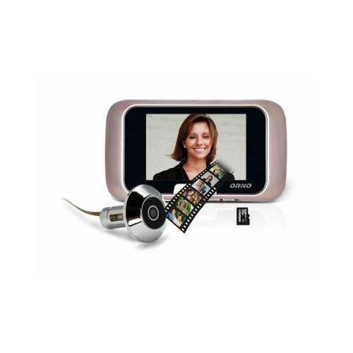 Kamera ukryta w wizjerze (judaszu) + kolorowy monitor z lcd 2,8