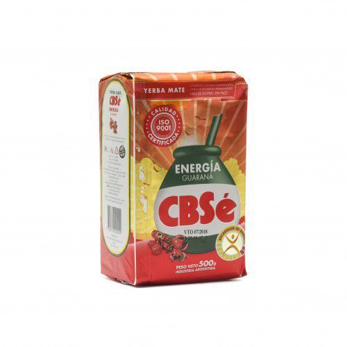 Intenson Yerba mate cbse energia guarana 500g