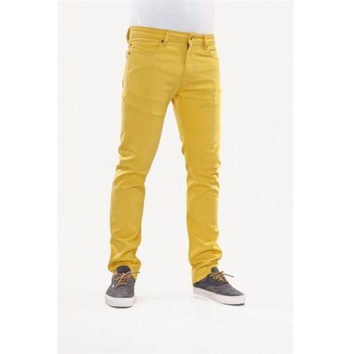 Reell Spodnie - skin yellow (yellow) rozmiar: 28/30