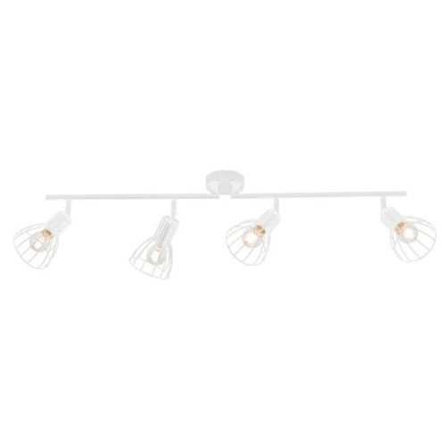 Listwa lampa oprawa sufitowa Spot Light Megan 4x60W E14 biała 2743402 (5901602349014)