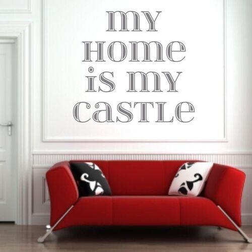 Naklejka 03x 18 my home is my castle 1725 marki Wally - piękno dekoracji