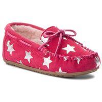 Kapcie EMU AUSTRALIA - Amity Kids Star K11474 Fuschia/Fuschia, kolor różowy