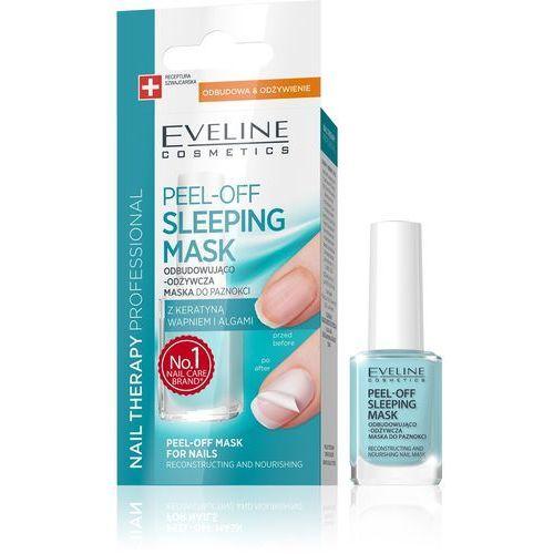 Eveline kolorowka Eveline nail therapy maska do paznokci peel-off sleeping odbudowująco-odżywcza 12ml
