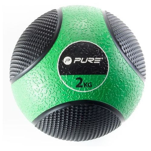 Pure2improve Piłka lekarska pure 2 improve p2i110000 czarno-zielony + darmowy transport!