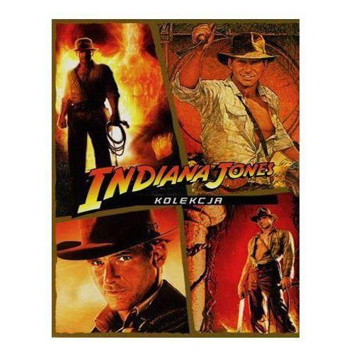 Imperial cinepix Pakiet: indiana jones (4xdvd) - steven spielberg darmowa dostawa kiosk ruchu