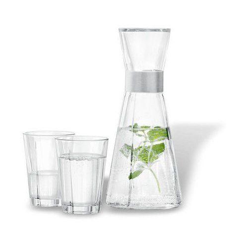 Karafka do wody i 2 szklanki, grand cru glass, zestaw - marki Rosendahl